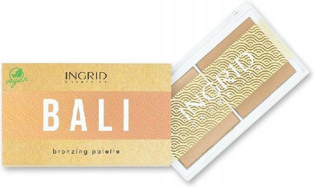 Ingrid Vegan Bali paletka bronzer do twarzy