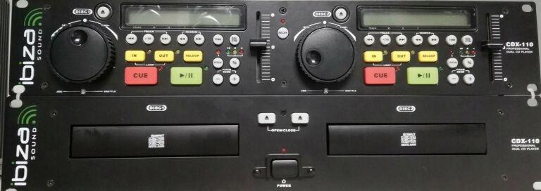 ODTWARZACZ DJ IBIZA CDX-110
