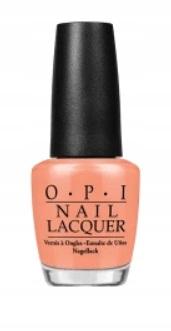 OPI lakier R68 I'm Getting a Tan-gerine