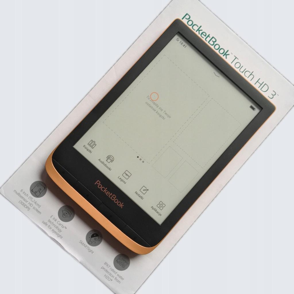Czytnik PocketBook Touch HD 3 z Legimi na 30 dni
