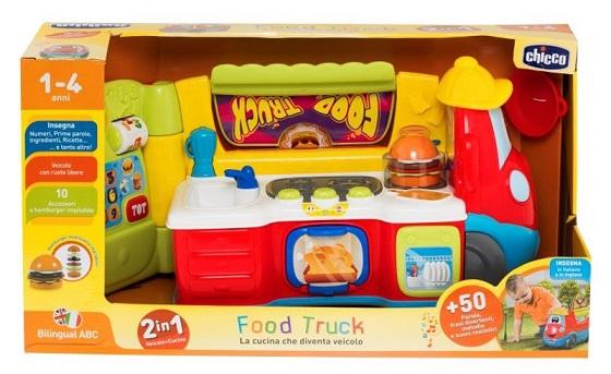 Gra CHICCO Food Truck PL/EN 74160 wiek: 1+ Plastik