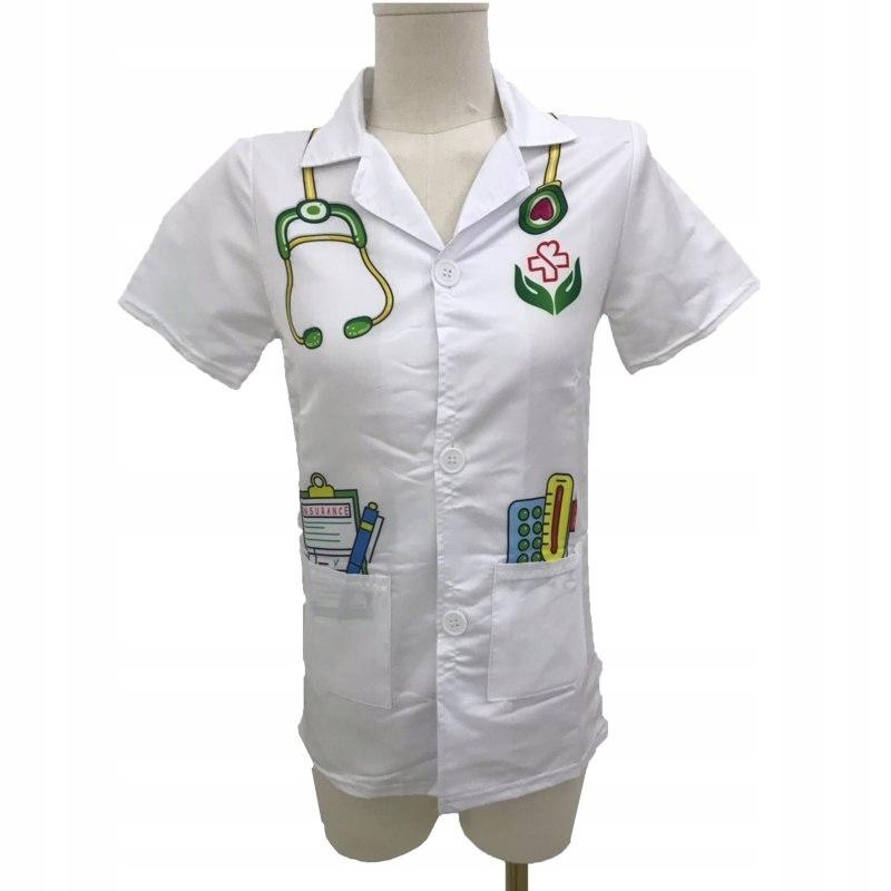 WOOPIE Ubranko Strój Lekarza Doktora dla Dzieci do