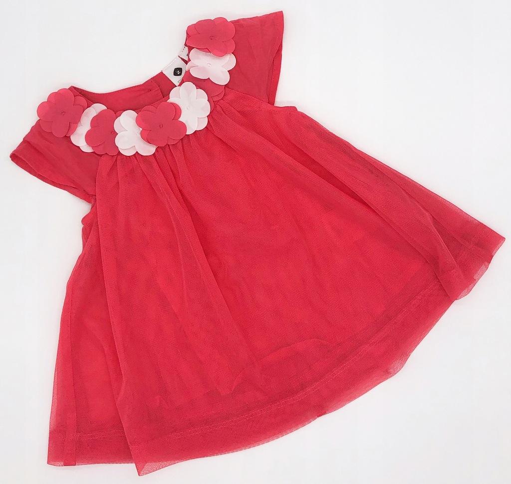 grain de blè śliczna sukienka kwiaty podszewka 3m