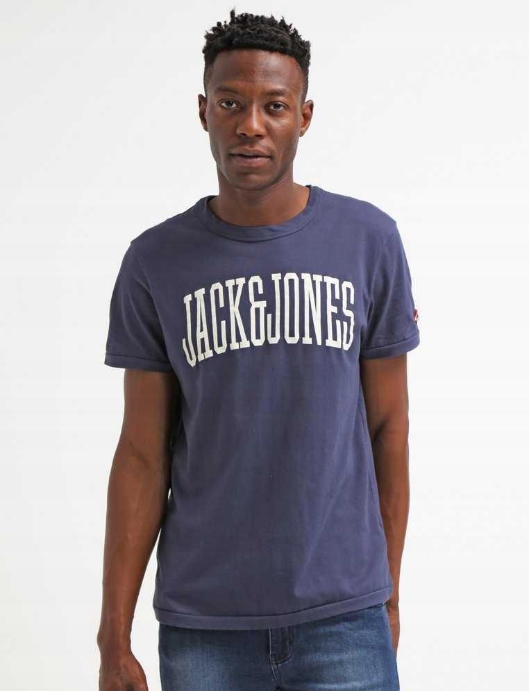 JACK & JONES T-shirt - Vintage - Jak Nowa - M