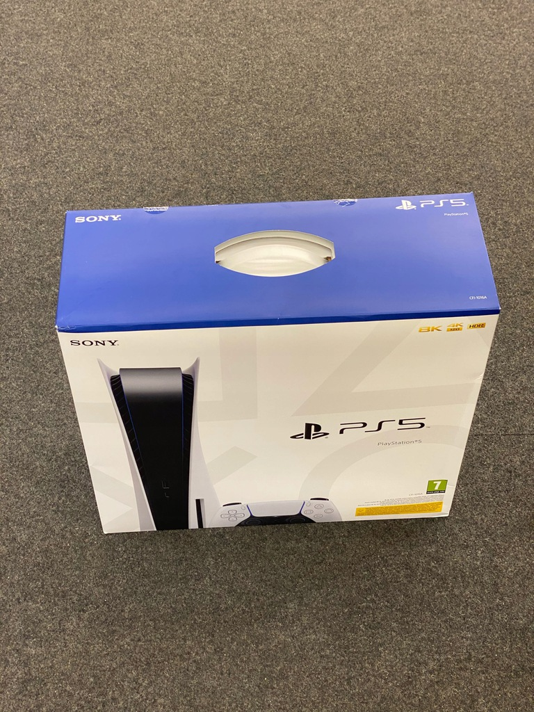 Konsola Sony PlayStation 5 + 3 Gry w zestawie