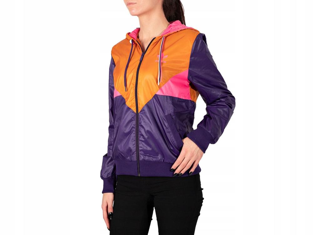 Damska kurtka sportowa Adidas wiatrówka AA2652 Ceny i