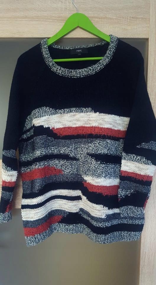 Sweterek NEXT L paseczki