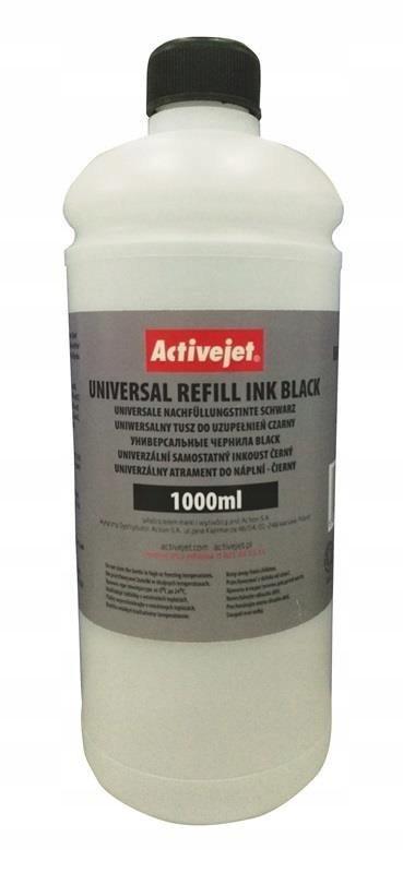 Tusz Activejet URB-1000Bk (1000 ml; czarny)