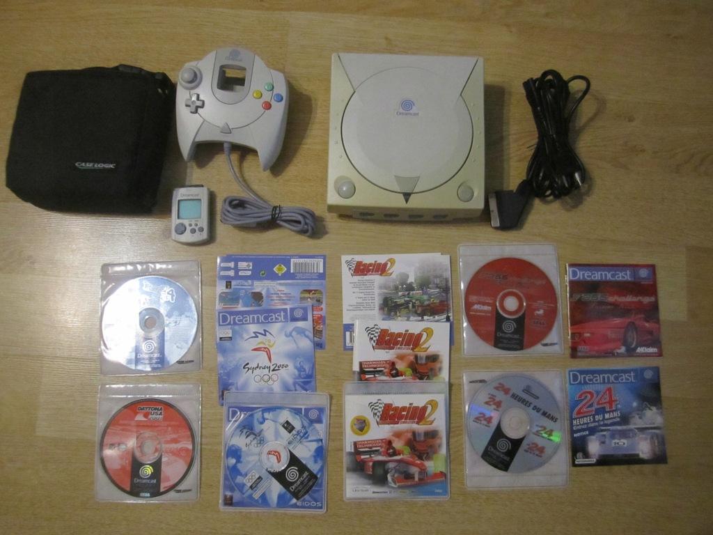 Konsola Sega Dreamcast Pad Memory Card GRY Plomba