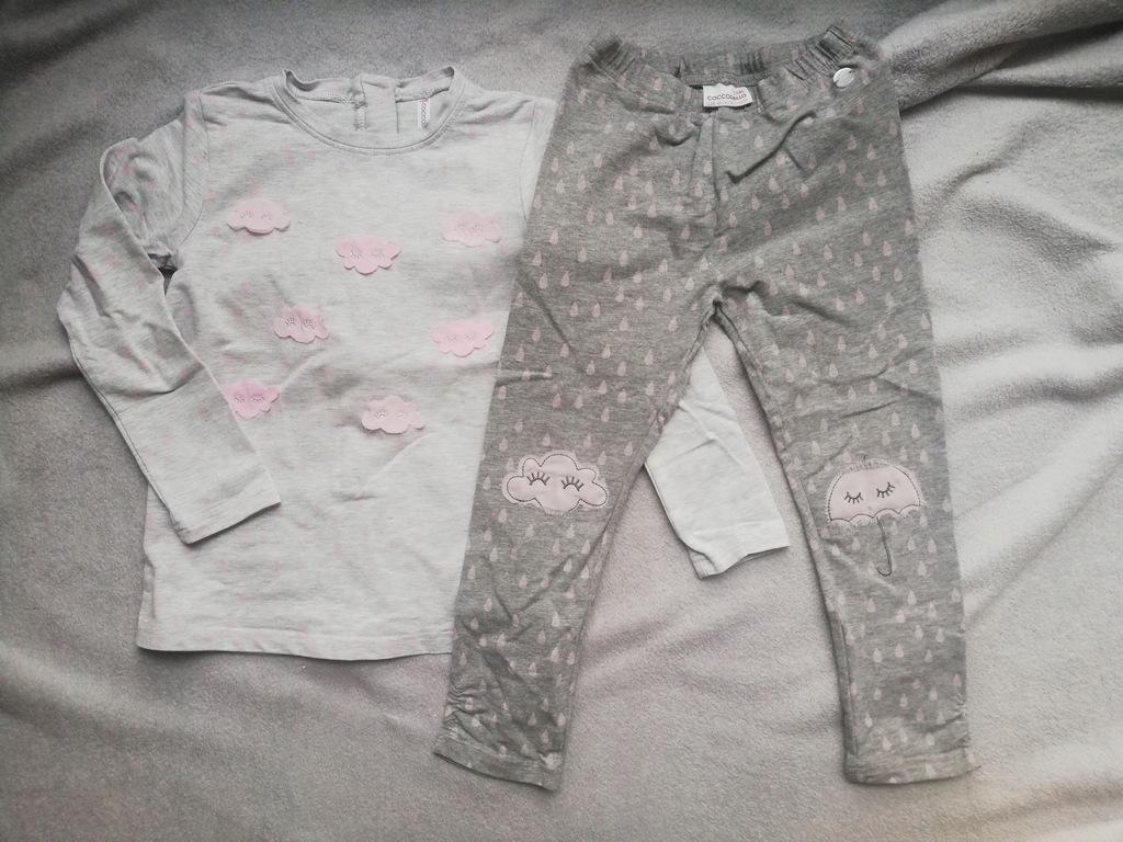 Komplet Coccodillo spodnie bluza 116