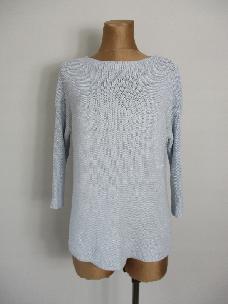 36/38 Super sweterek Reserved błękitny -#2