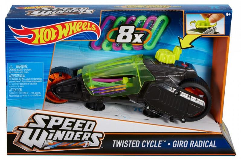 Hot Wheels. DPB66 Autonakręciaki. Twisted Cycle...