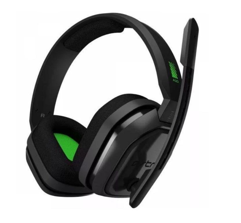 Słuchawki Logitech Astro A10 zielone