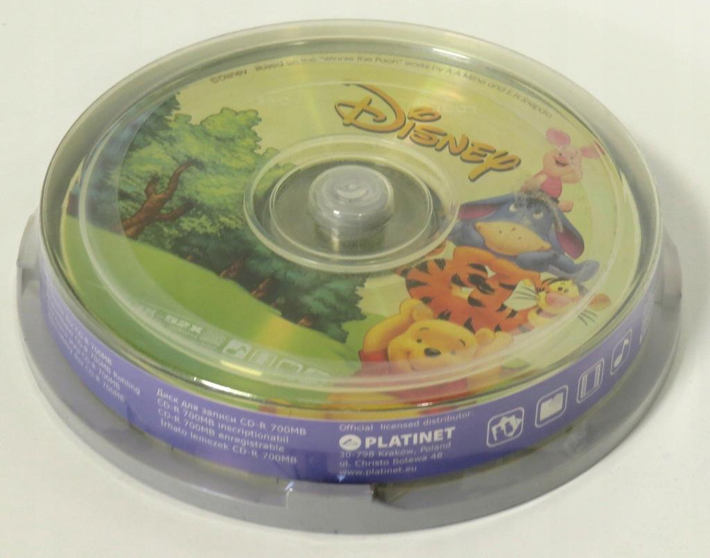 Płyta CD-R 700MB motyw Disney 10szt