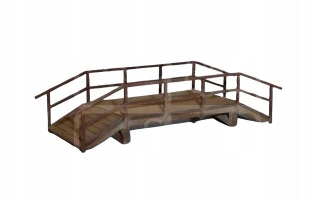 N - Most mostek kładka drewniana 1:160 112010