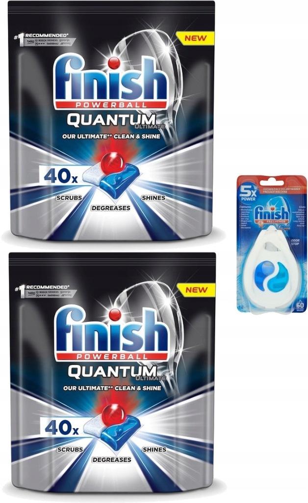 Finish Quantum 2xtabletki odświeżacz do zmywarki