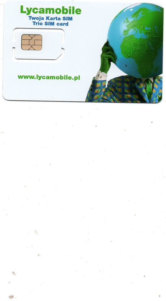 KARTA LYCAMOBILE 18