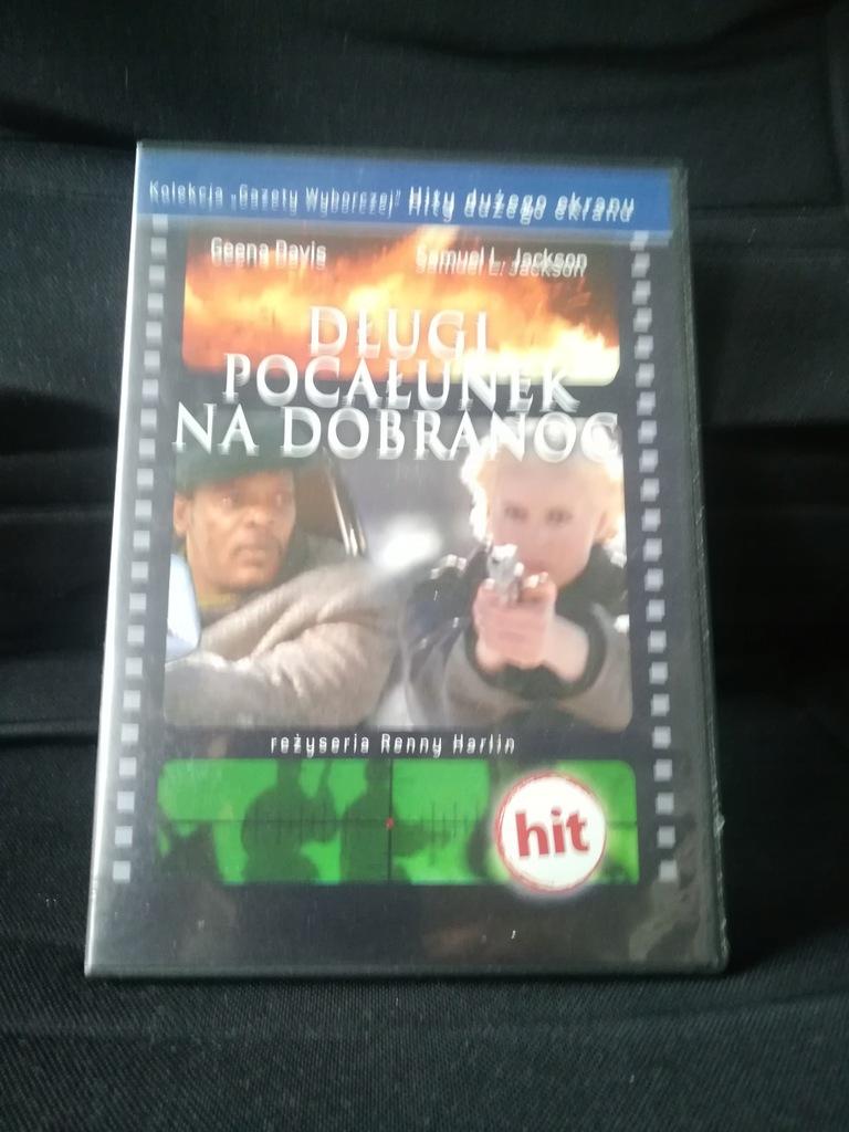 DVD - Długi pocałunek na dobranoc - G. Davis -PL-