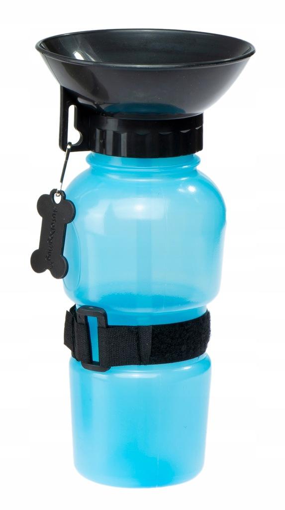 Butelka turystyczna dla psa bidon miska 500ml