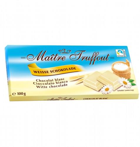 Maitre Truffout Biała czekolada 100 g