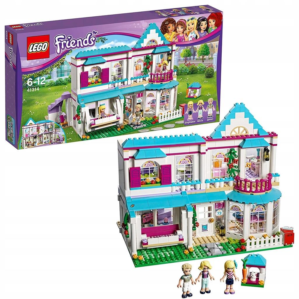 LEGO FRIENDS 41314 DOM STEPHANIE GORZOW - 8097462737 ...