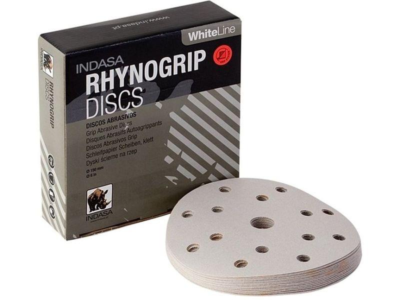 Indasa Disque Rhynogrip White Line /Ã /˜ 150/15/F P80