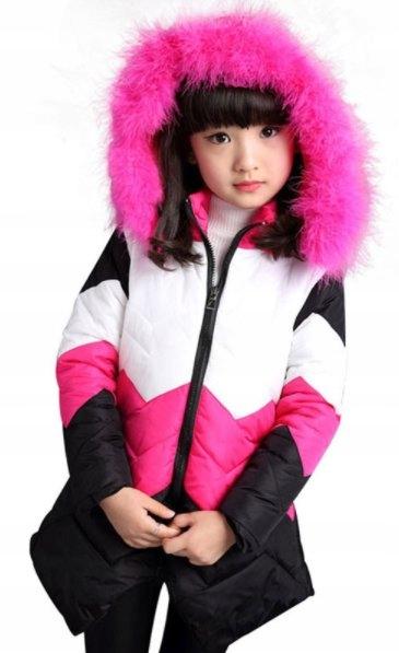 Płaszcz jesienno zimowy asymetryczny futerko 152