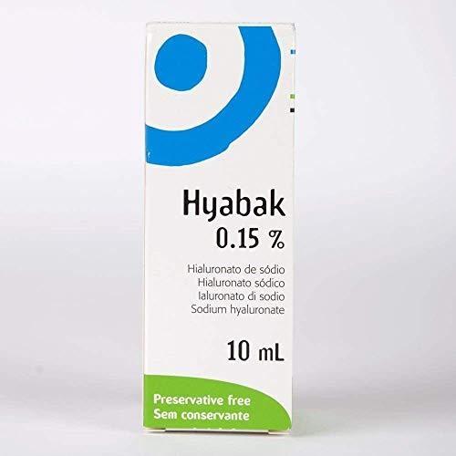 3 x NOWO HYPOTONIC Hyabak 10ml Bez konserwantów