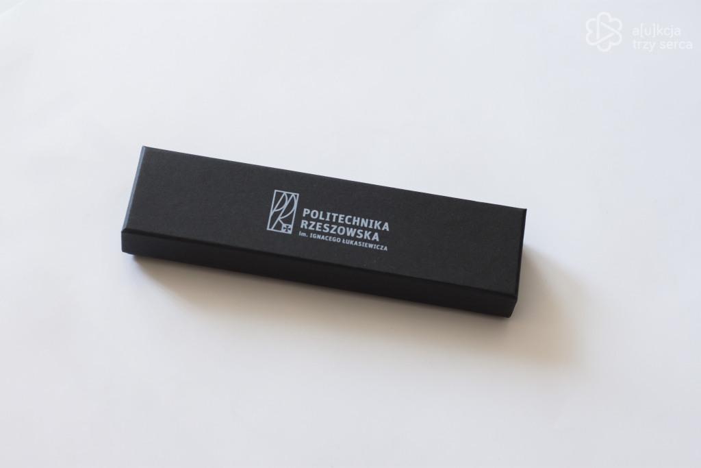 Długopis z logo Politechniki Rzeszowskiej