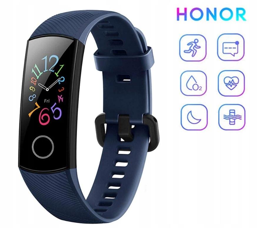 Honor Band 5 OPASKA sportowa Bluetooth Wodoodporna