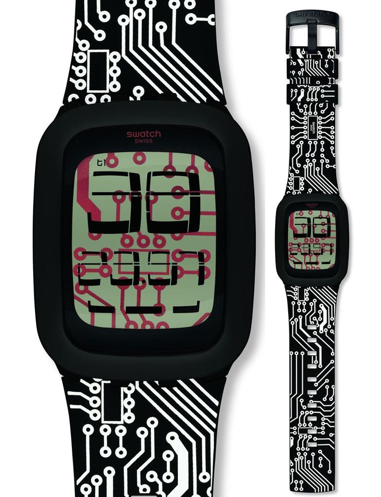Zegarek Swatch SURB117 WHITECHIP Touch