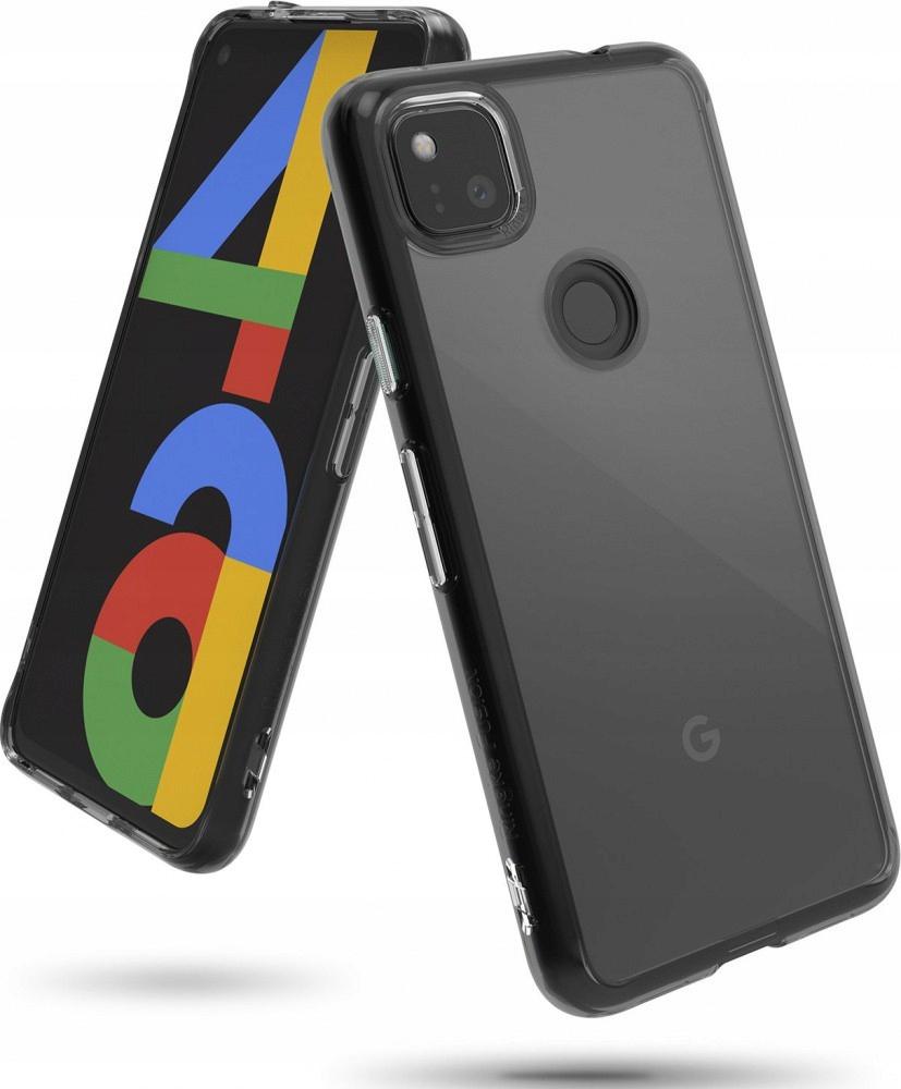 Etui Ringke do Google Pixel 4a Fusion Smoke Black