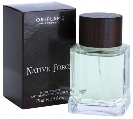 ORIFLAME NATIVE FORCE WODA TOALETOWA 75 ml 24h