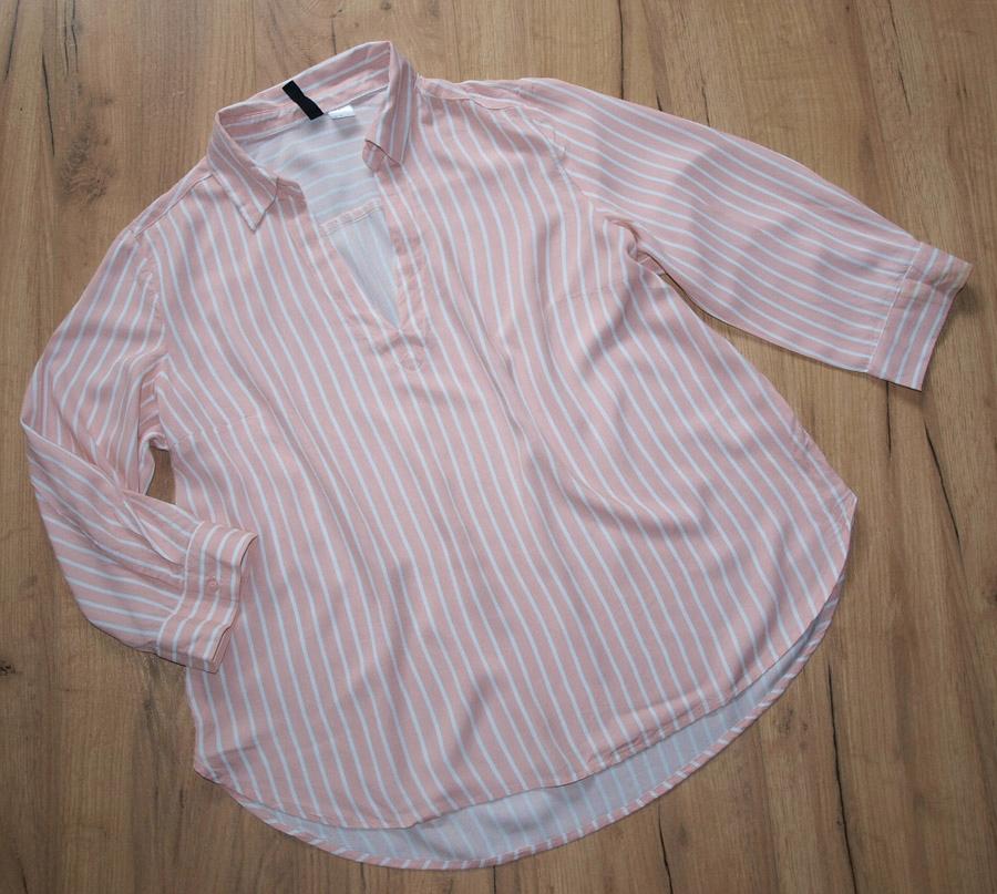 H&M modna bluzeczka paski 42