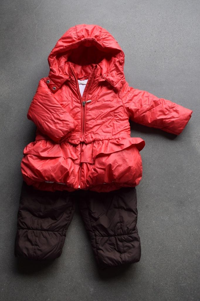 Zestaw zimowy, Wójcik r 86, Kurtka+spodnie