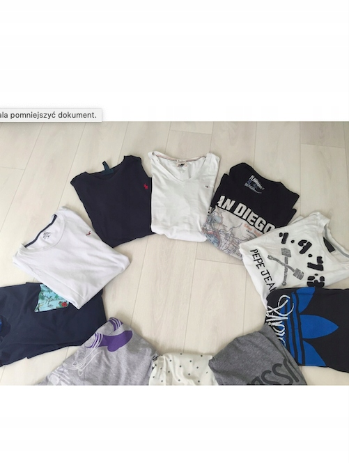Paka T-shirt Ralph Lauren, Tommy Pepe Jeans L
