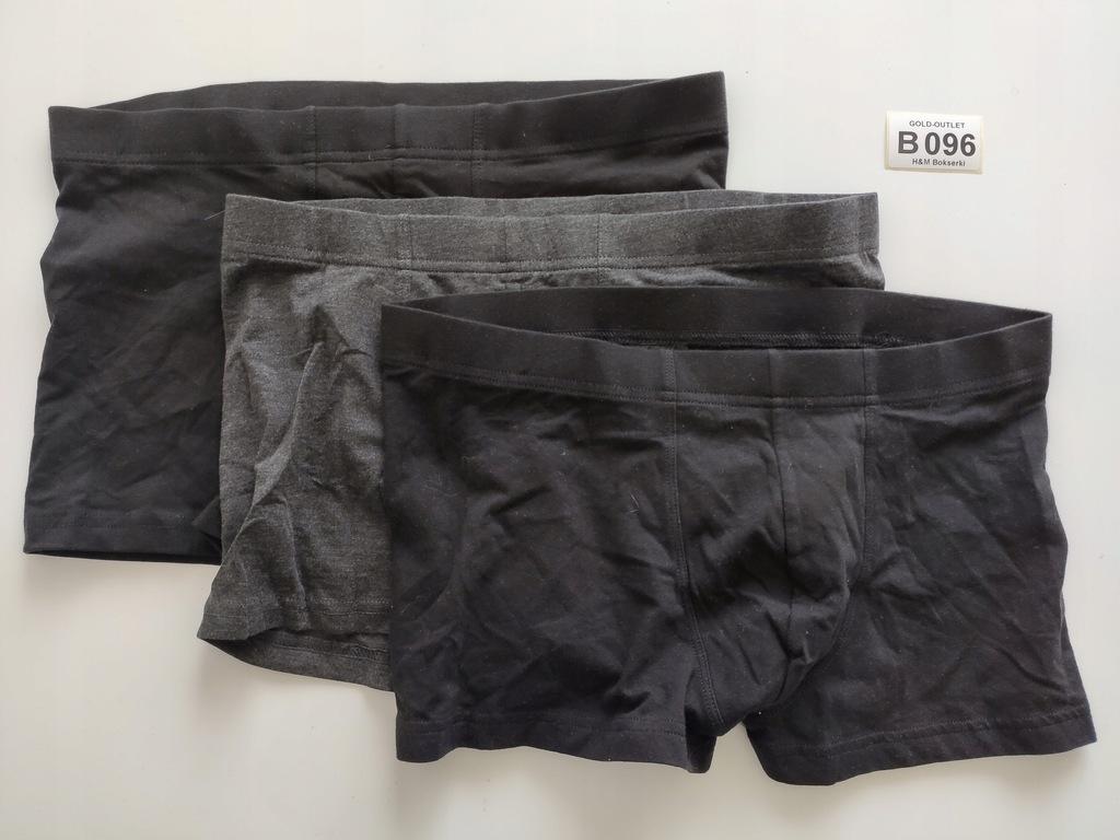 BOKSERKI majtki H&M 38 M 3-pak B096
