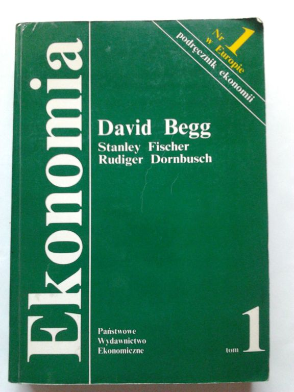 Ekonomia David Begg tom1