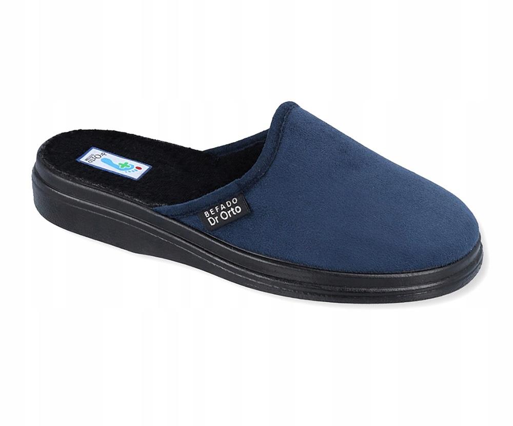 Pantofle kapcie laczki męskie Befado 125/6 R 48