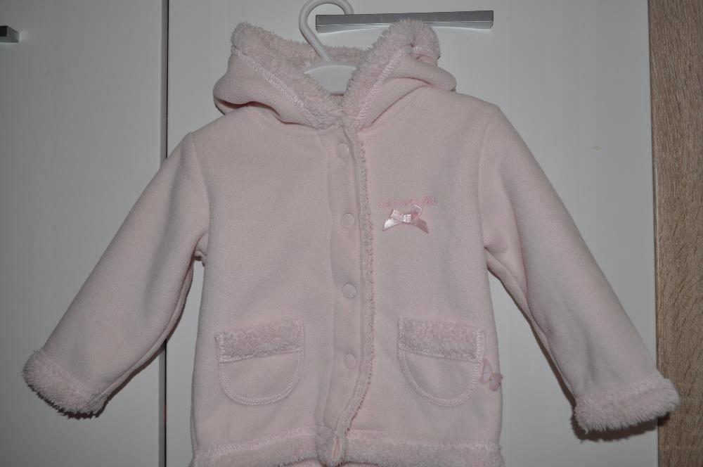 Kurtka, bluza Coccodrillo roz. 74 (6-9 m-cy)