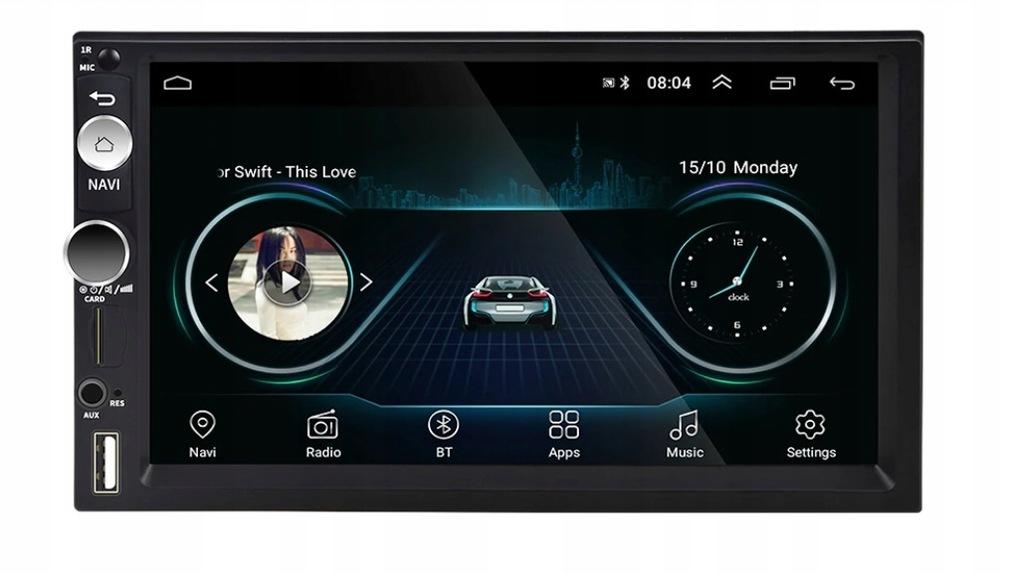 RADIO 2DIN GPS ANDROID BLUETOOTH Kamera cofa 7CALI