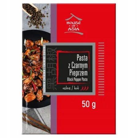 House of Asia Ostra Pasta z czarnym pieprzem 50 g