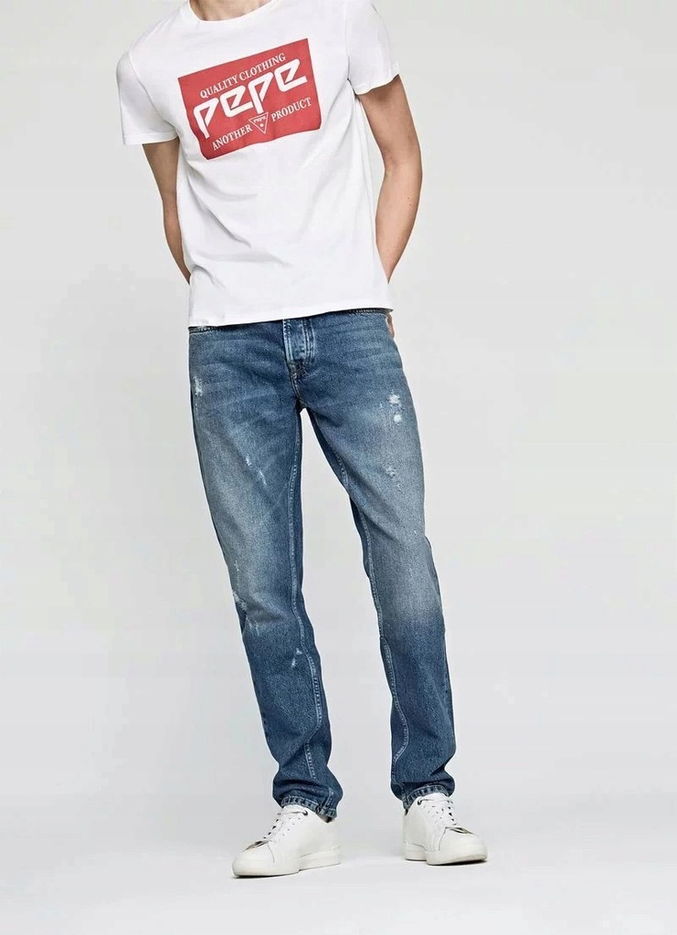 PEPE JEANS MALTON RELAXED FIT REGULAR W30 L32