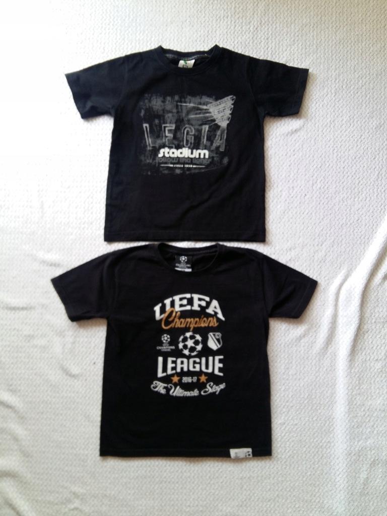 2 koszulki Legia 134 stan bardzo dobry