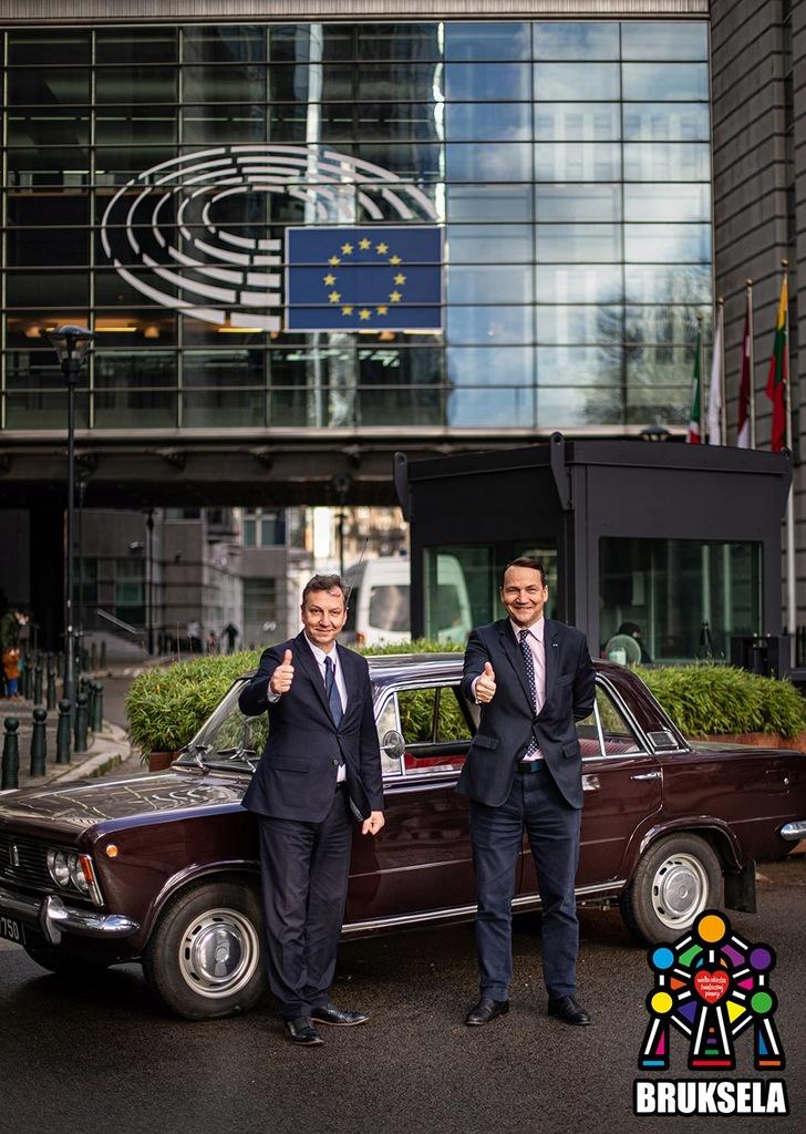 Sikorski i Halicki - licytuj pobyt w Brukseli i PE
