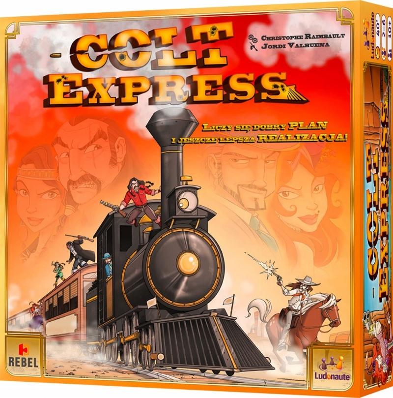 Colt Express. Gra towarzyska. Rebel. 97026.