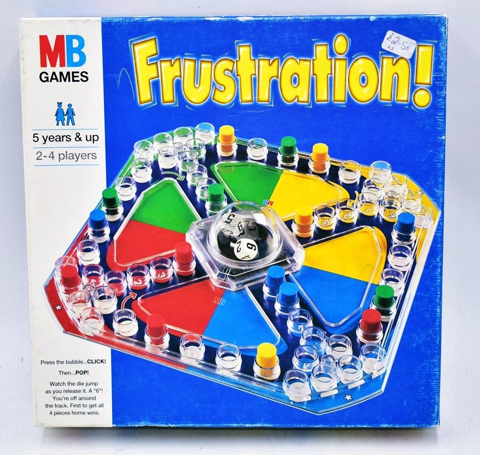 4662-26 MB GAMES FRUSTRATION... k#o GRA PLANSZOWA