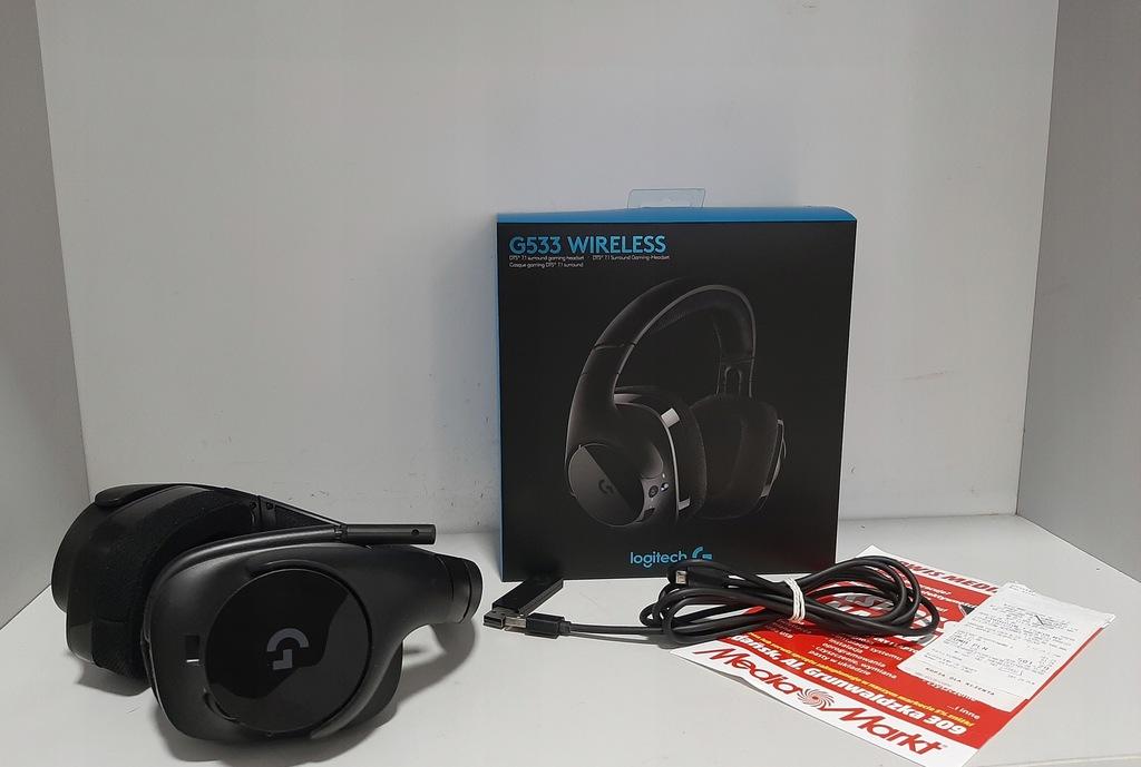 Logitech G533 Wireless czarne !GWARANCJA