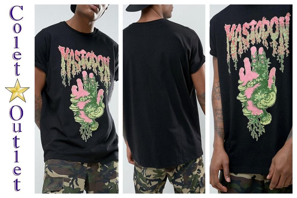 mr33 T-shirt czarny mastodon zespół oversize XL