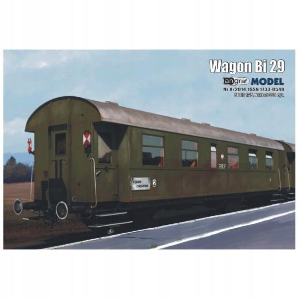 Wagon osobowy Bi29, Angraf Model, 1/25